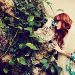 Louise Ebel alias Pandora en kimono