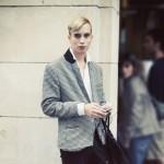 jeune homme blond street style