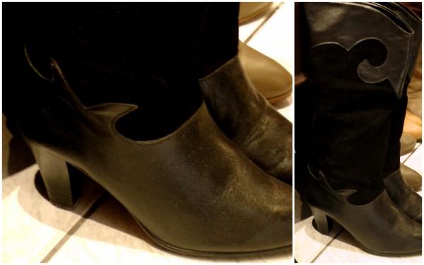 bottes bimatière style isabel Marant