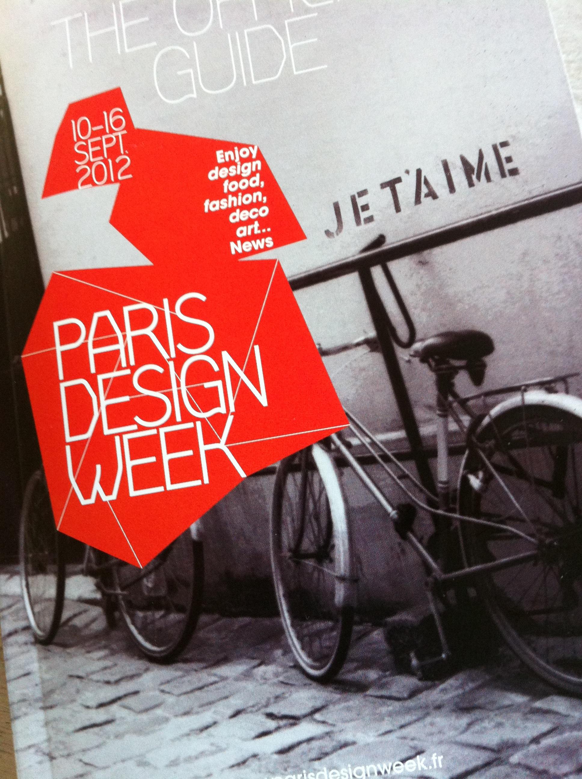 Paris Design Week : les infos