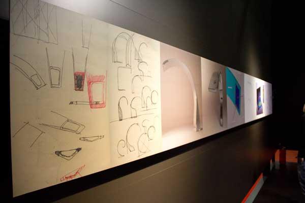 La Rochelle Kartell  esquisses espace Kartell salon du design milan 2012 photo  Kartell @ La Rochelle : design rocks !