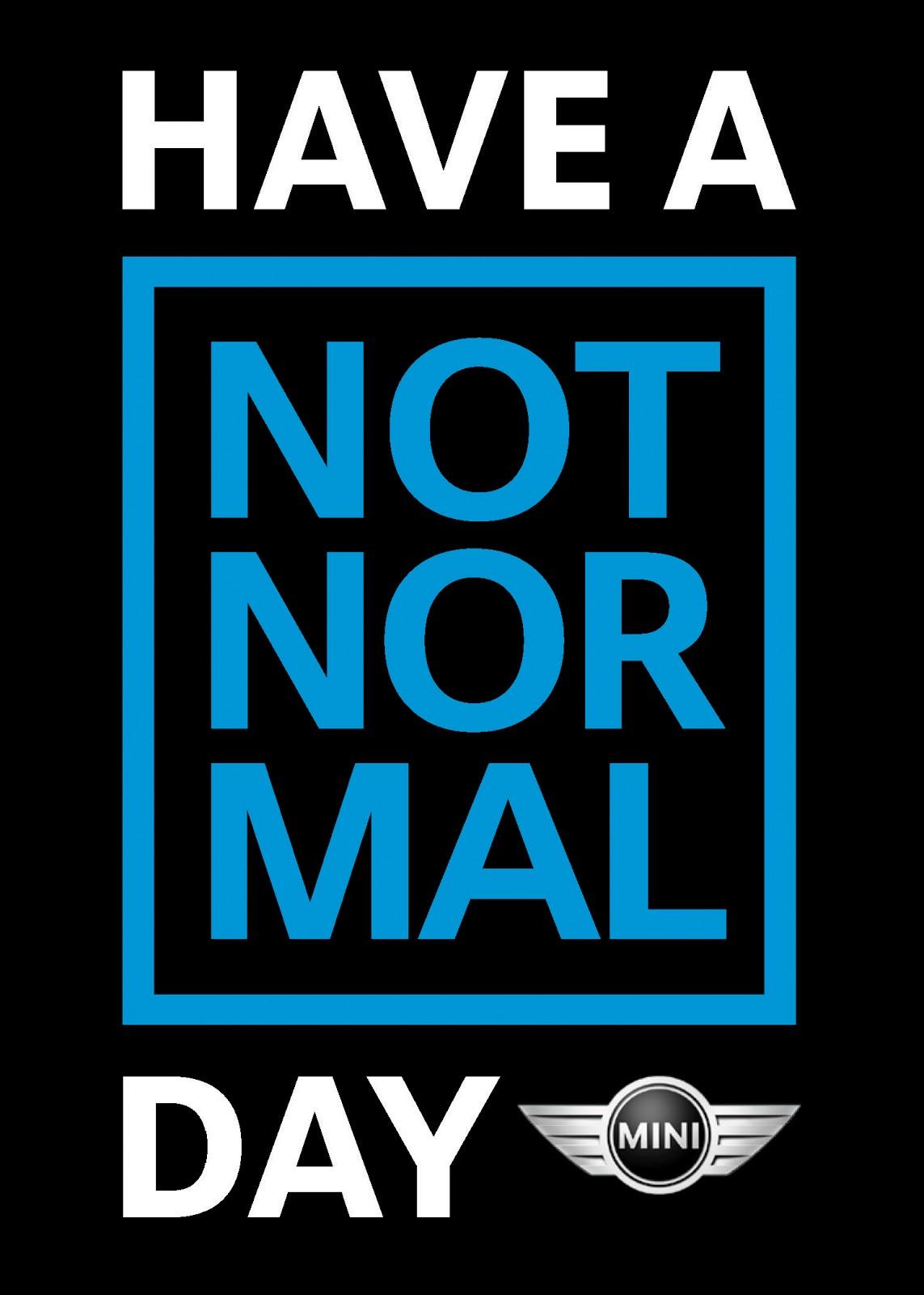 Normal / Not normal ? (VIDEO SPONSORISEE)