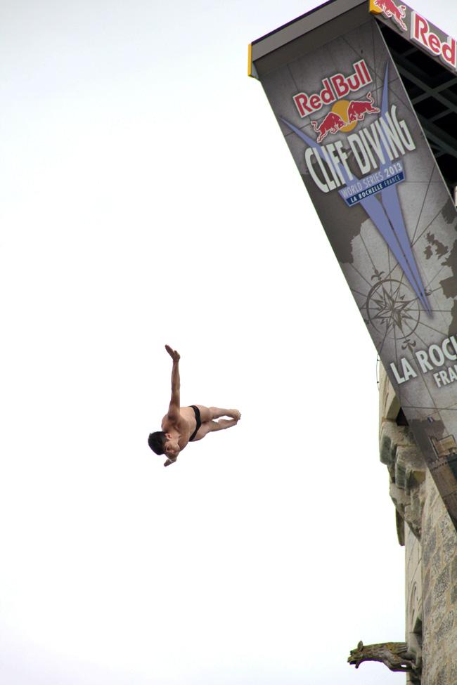 Plongeon de haut vol  de Jonathan Paredes