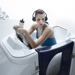 L'aquabiking en cabine individuelle