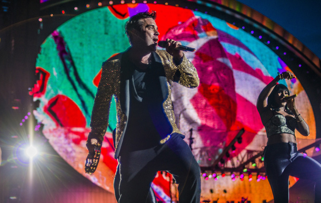 Robbie Williams à La Rochelle