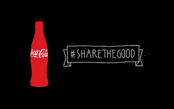 Coca-Cola #sharethegood