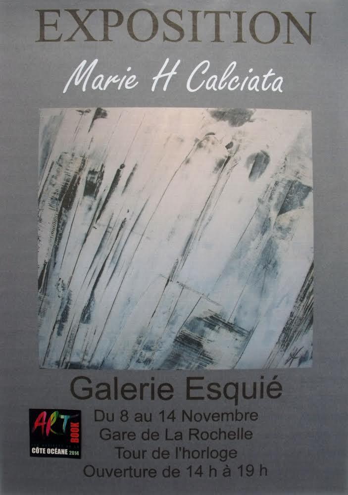 Marie H Calciata, voyage au cœur de la matière…
