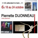 Pierrette Dijonneau, l'équilibre dans le déséquili...