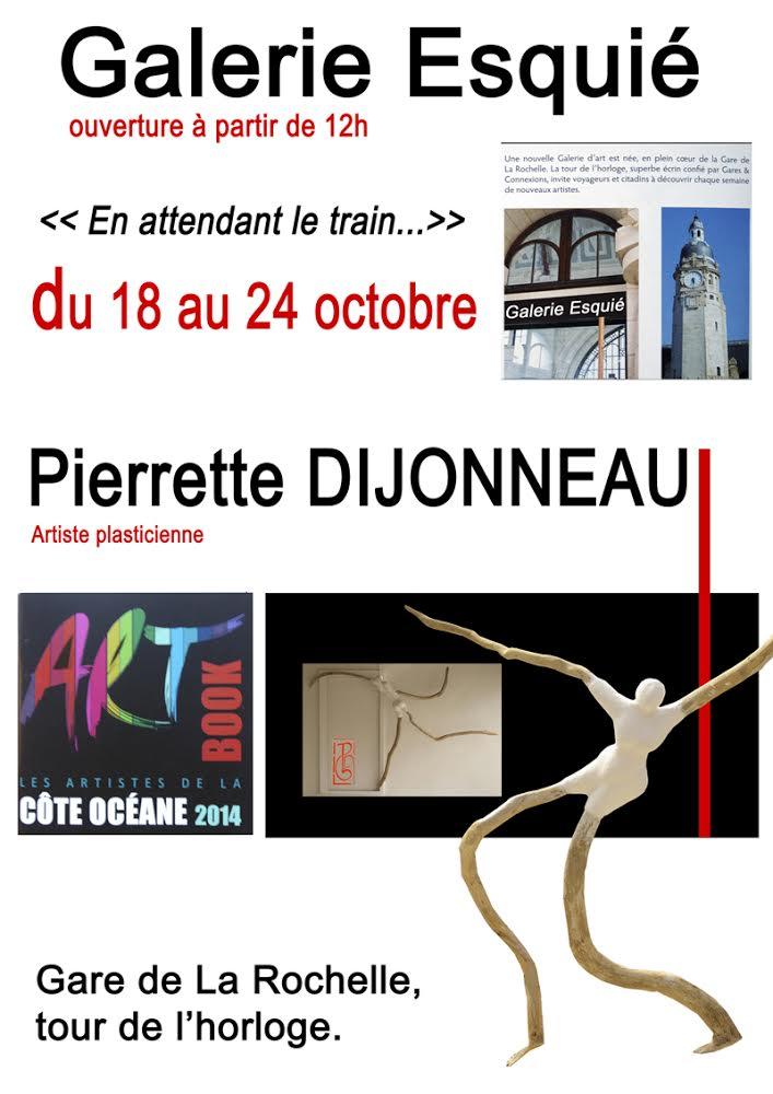 Pierrette Dijonneau, l'équilibre dans le déséquilibre…