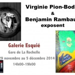 Benjamin Rambaud, peintre et Virginie Pion, photog...