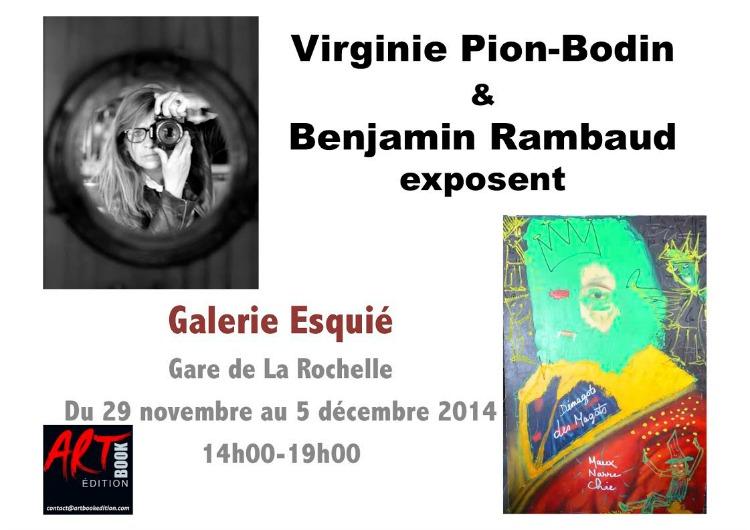 Benjamin Rambaud, peintre et Virginie Pion, photographe