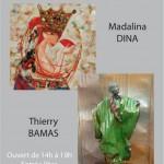 Madalina Dina et Thierry Bamas, peinture et sculpt...