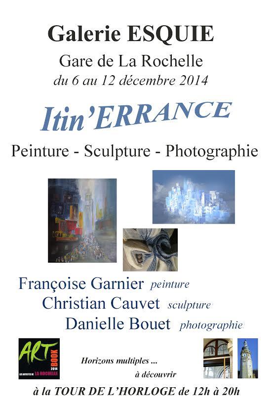 Itin'errance, un voyage en peinture sculpture et photographie