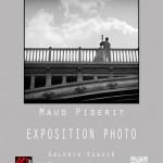 affiche exposition Maud Piderit, photographe