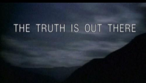 The X-Files tagline