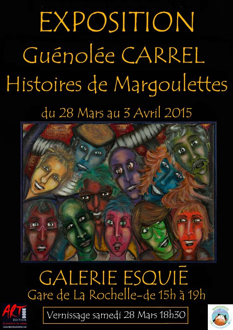Guénolée Carrel Galerie Esquié - 28 mars au 3 avril 2015