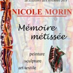 Affiche exposition Nicole Morin