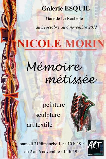 Nicole Morin, mémoire métissée