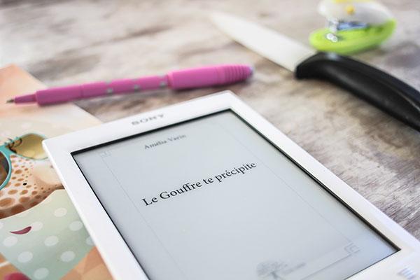 Le Gouffre te précipite : le premier livre d'Amélia Varin